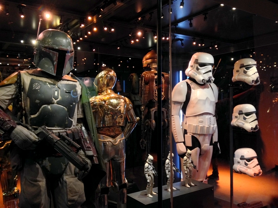 Boba Fett and Stormtroopers costumes - Star Wars Identities, Lyon, France