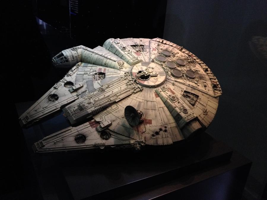 Le Faucon Millenium de Han Solo - Star Wars Identities, Lyon, France