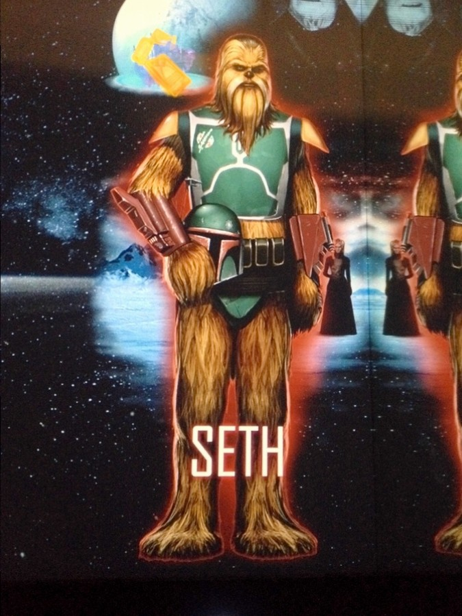L'alter ego Star Wars de Séb, Seth - Star Wars Identities, Lyon, France