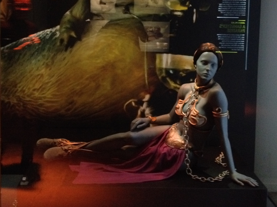 Le fameux costume de Princesse Leia - Star Wars Identities, Lyon, France