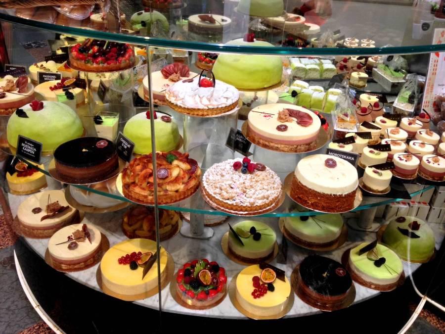 Beautiful cakes ! - Östermalm, Stockholm, Sweden