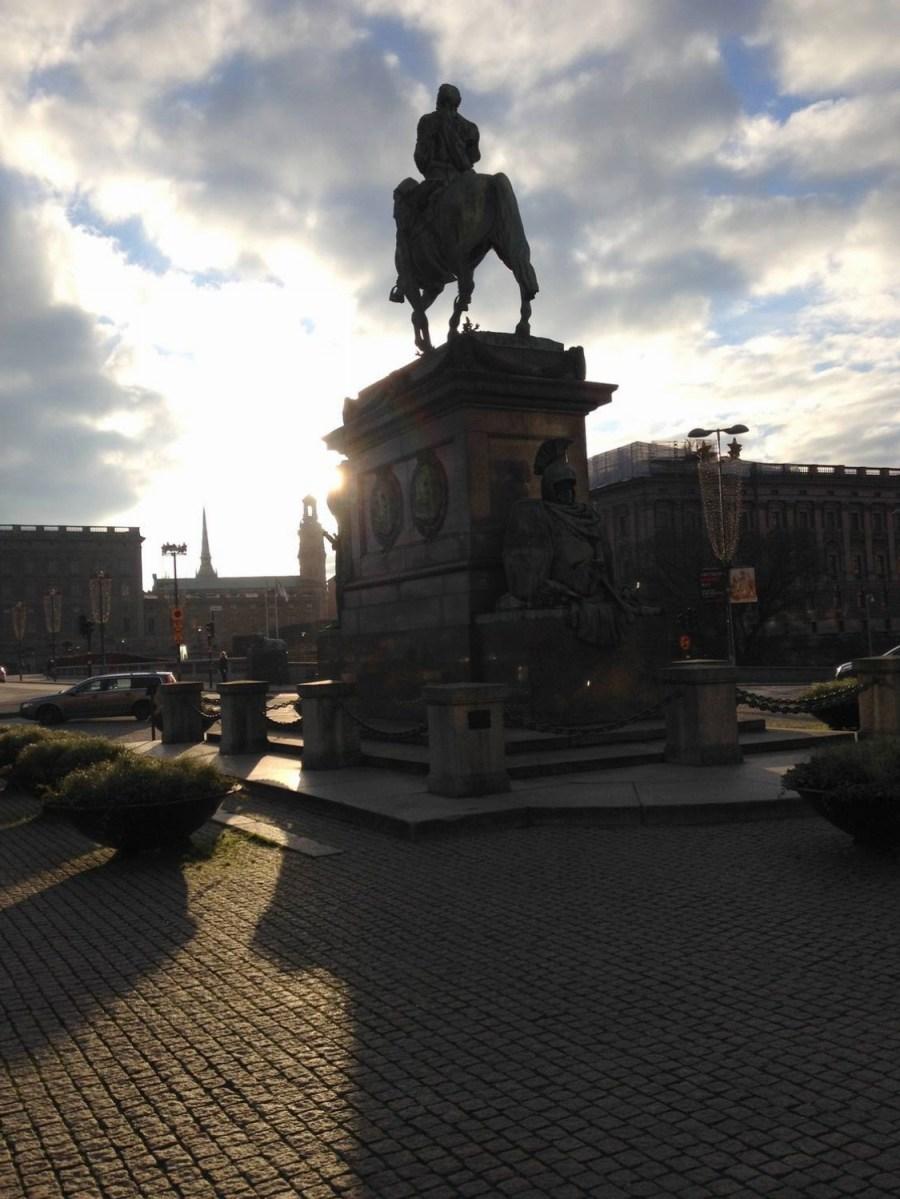Statue de Charles XIII - Stockholm, Suède