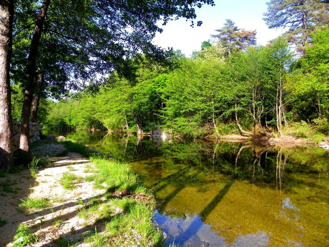 Salendrinque riverside - Lasalle, France