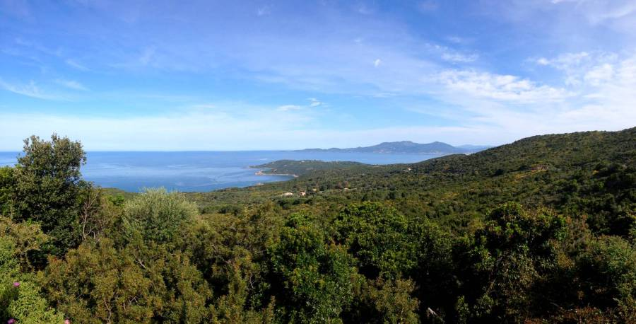 Beautiful panorama on Coti-Chiavari - Corsica, France