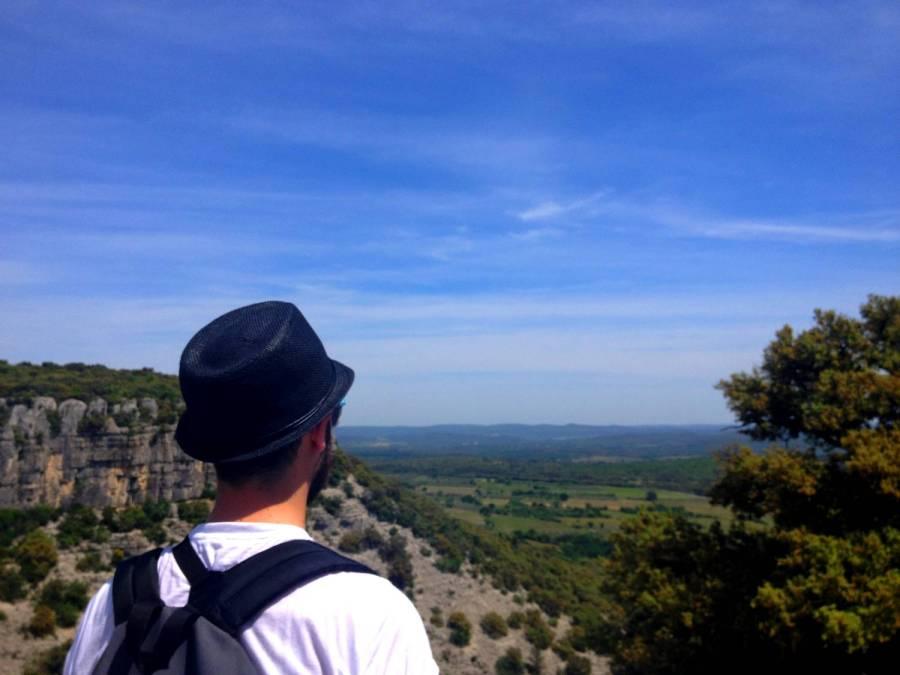 Jolie vue sur Corconne - France