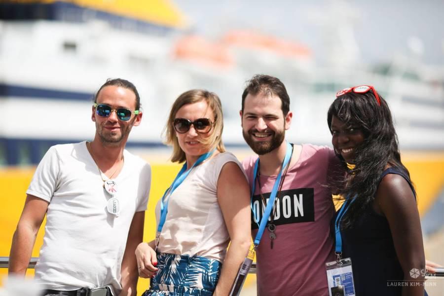 Arnaud, Marie, Séb et Nath - Ajaccio, Corse