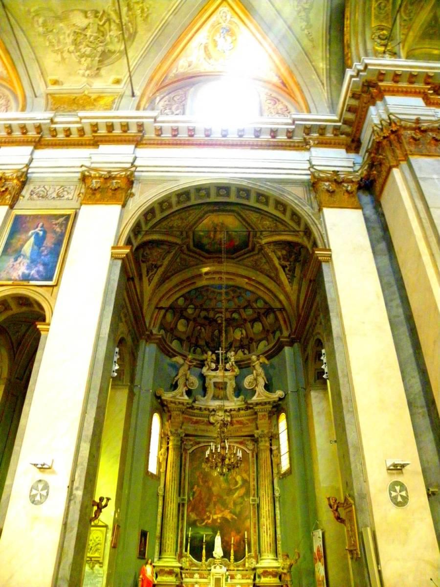Aura divine église Saint Jean Baptiste - Bastia, Corse