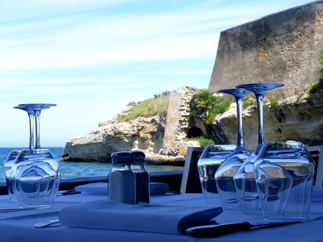 Nice table at the Marinuccia restaurant - Saint-Florent, Corsica