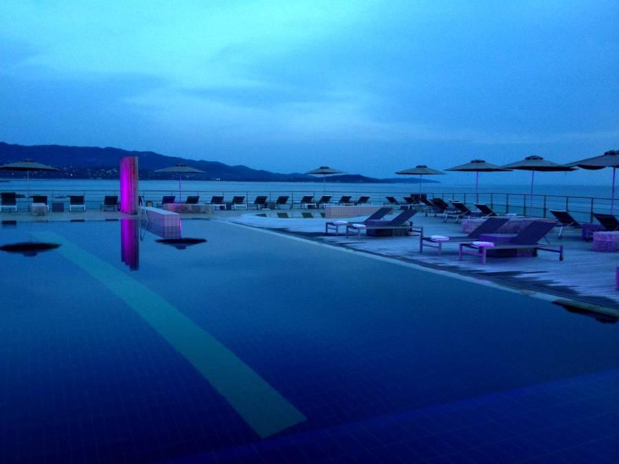 Pool of the Sofitel - Porticcio, Corsica