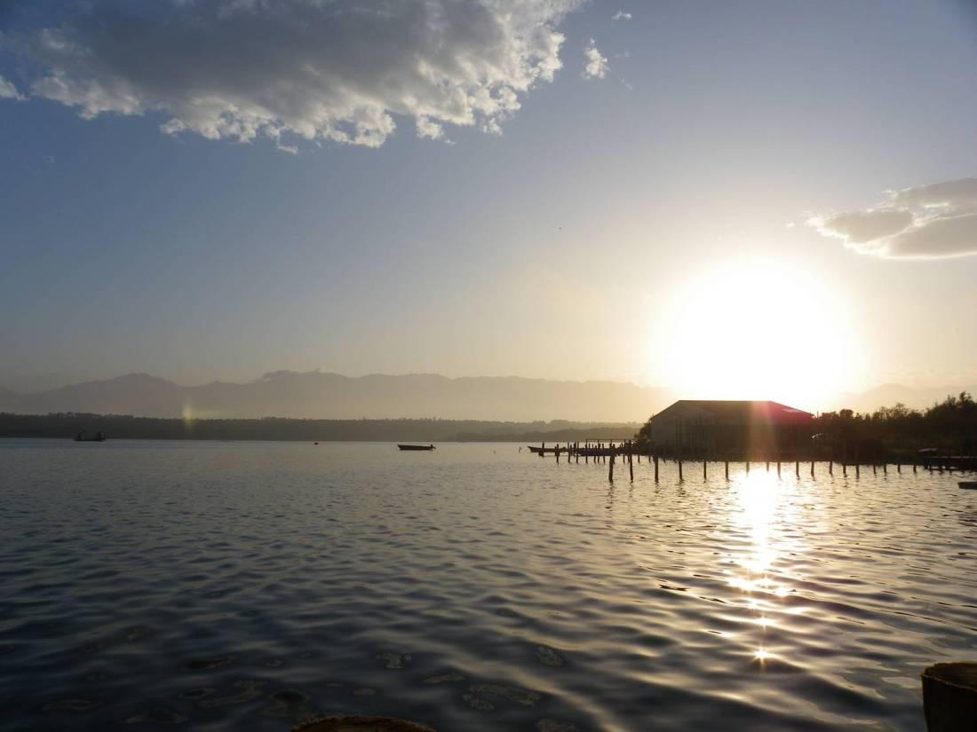 Sunset at the Urbinu pond - Corsica