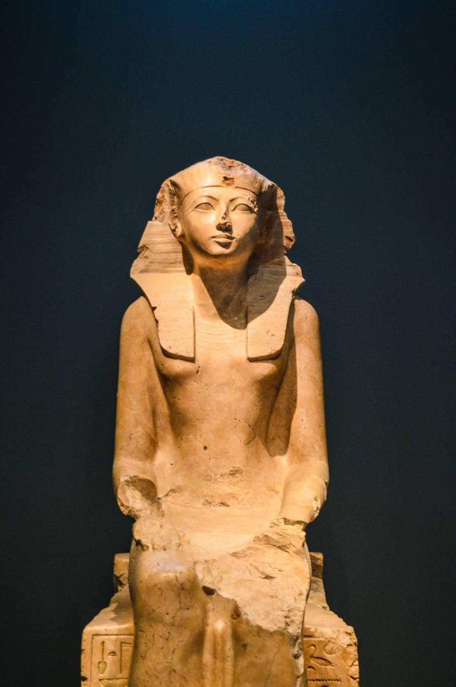 Oeuvre d'art datant de l'Egypte Antique au Metropolitan Museum of Art - New York, Etats-Unis
