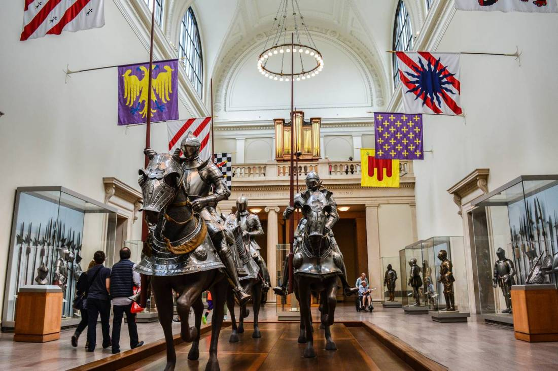 Armors at the Metropolitan Museum of Art - New York, United States