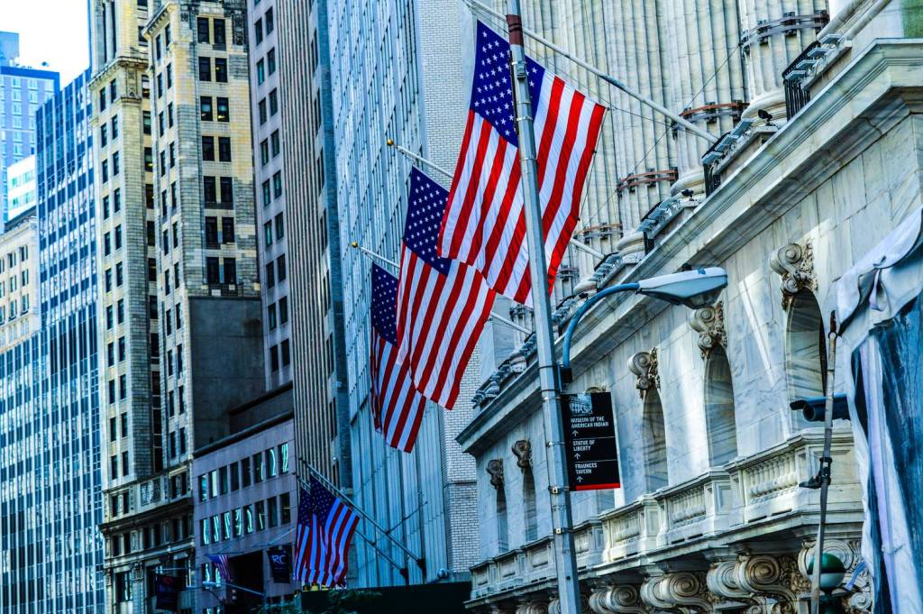 La bourse de New York à Wall Street - Etats-Unis
