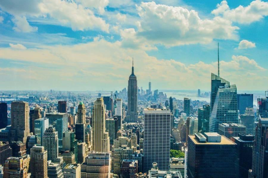Vue sur l'Empire State Building depuis le Top of the Rock - New York, Etats-Unis
