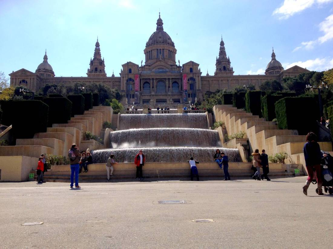 National Museum of Catalan Art in Montjuïc - Barcelona, Spain