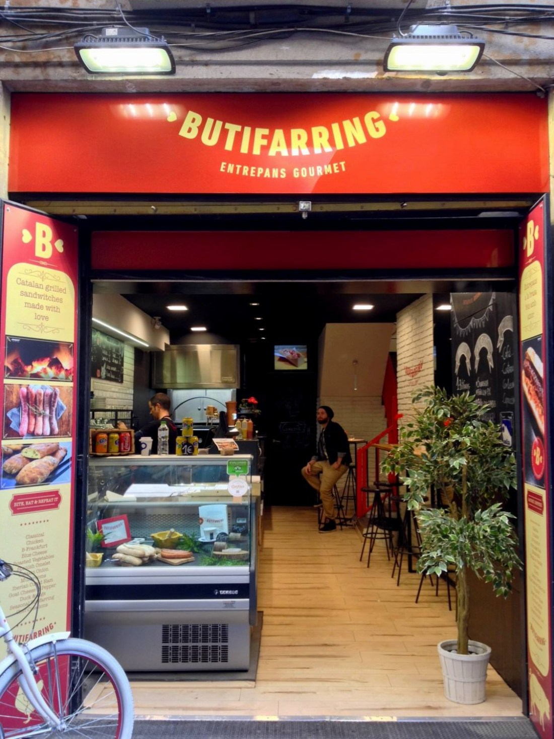 Butifarring's entrance - Barcelona, Spain