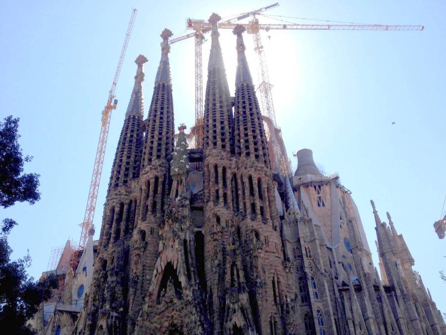 Sagrada Familia - Barcelone, Espagne