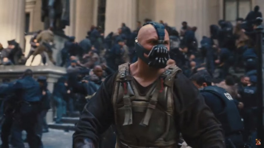 Scene from The Dark Knight Rises - New York, USA