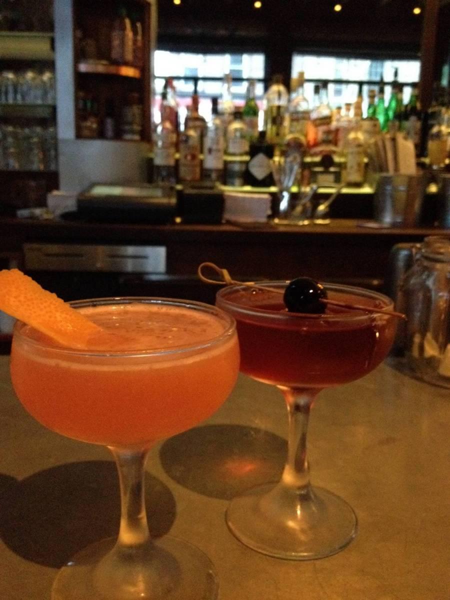 Nos cocktails à Eugene & Co à Bedford-Stuyvesant, Brooklyn - New York, Etats-Unis