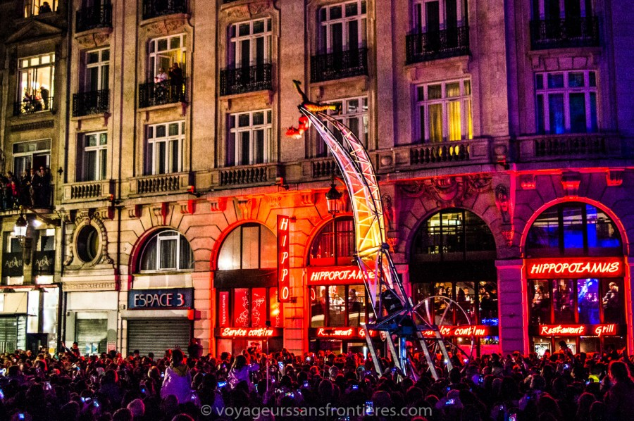Opening parade of Renaissance - Lille, France
