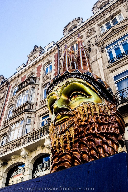 Metamorphosis in Lille - France