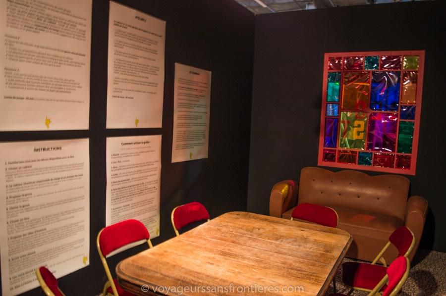 Salle de brainstorming à l'Usine de films amateurs - Roubaix, France