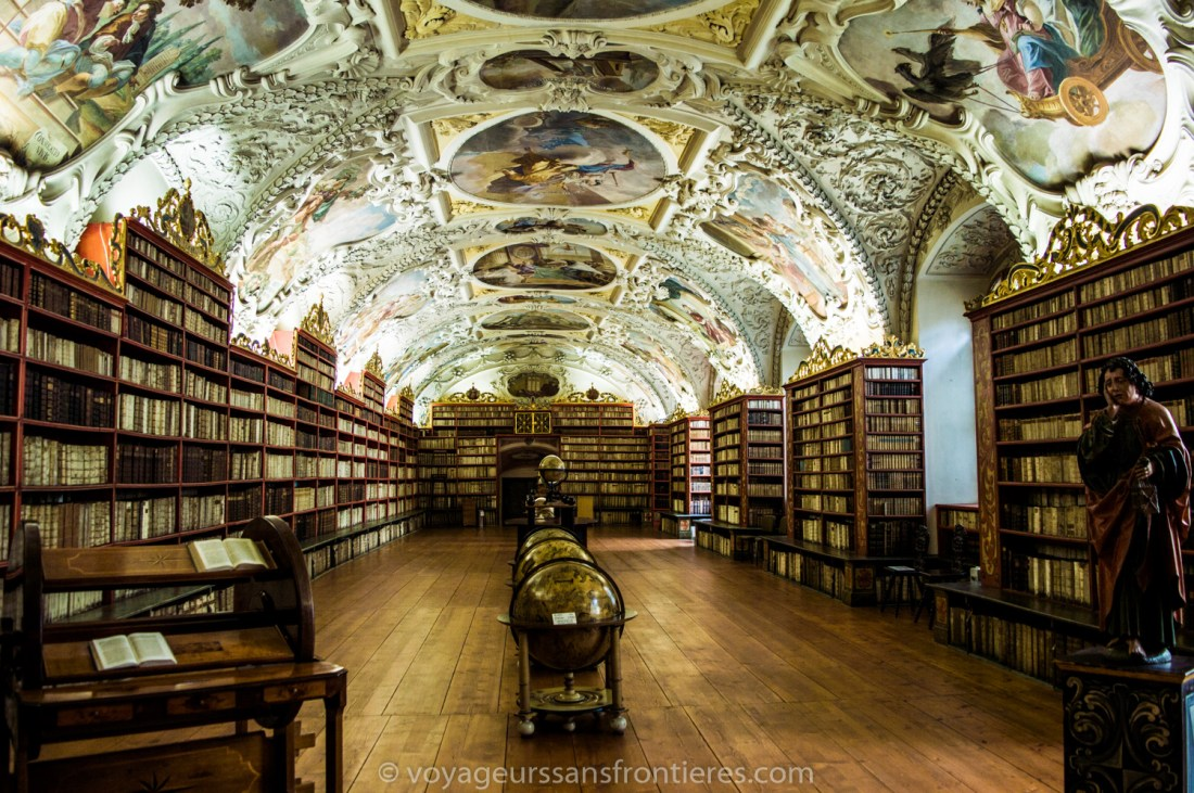 The Theology library of the Strahov monastery - Prague, Czech Republic
