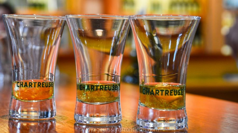 Chartreuse tasting at the Chartreuse museum - Voiron, France