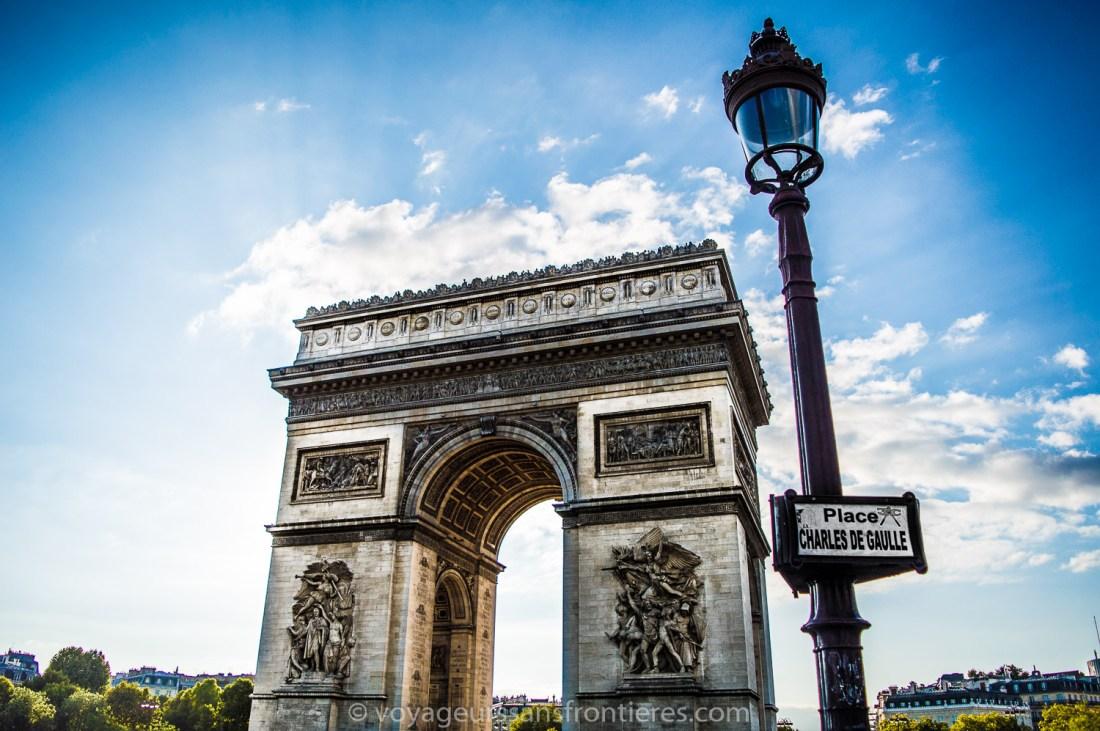 The Arc de Triomphe - Paris, France