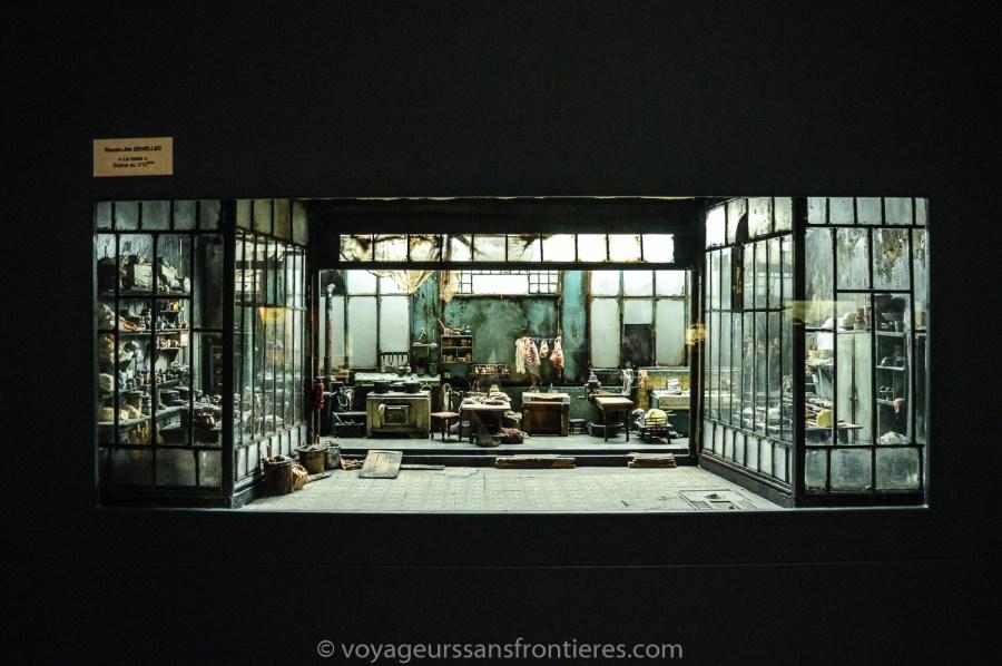 Superbe miniature au Musée Miniature et Cinéma - Lyon, France