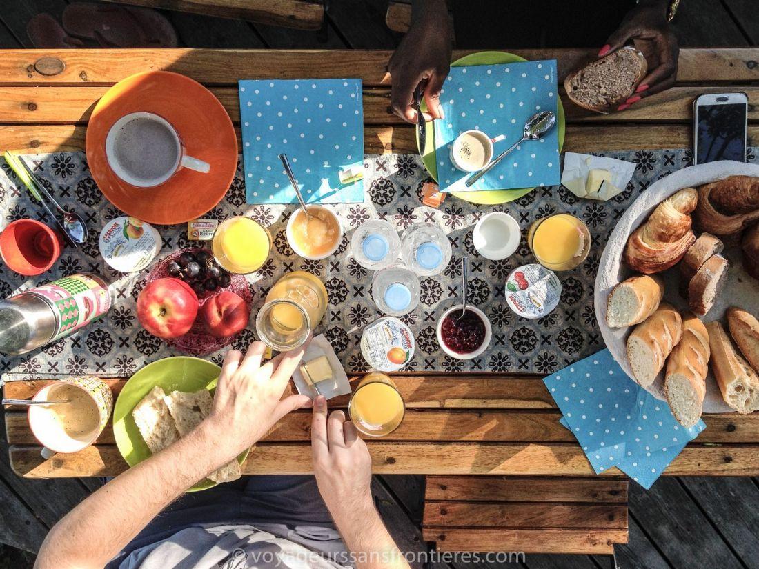 Delicious breakfast at Somnidsphère - Saint Geoire en Valdaine, France