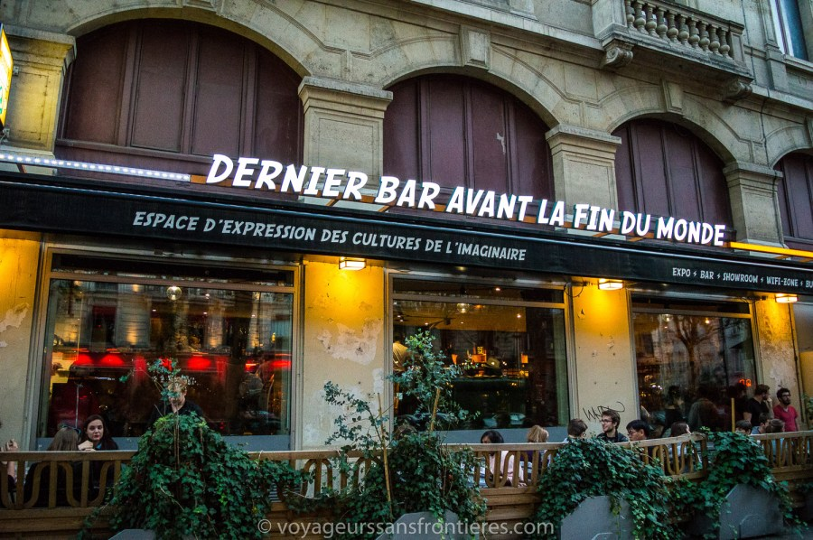 Le dernier bar avant la fin du Monde - Paris, France