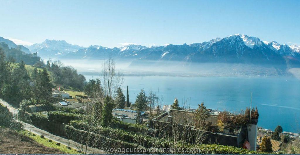 Vue sur le Lac Léman - Suisse
