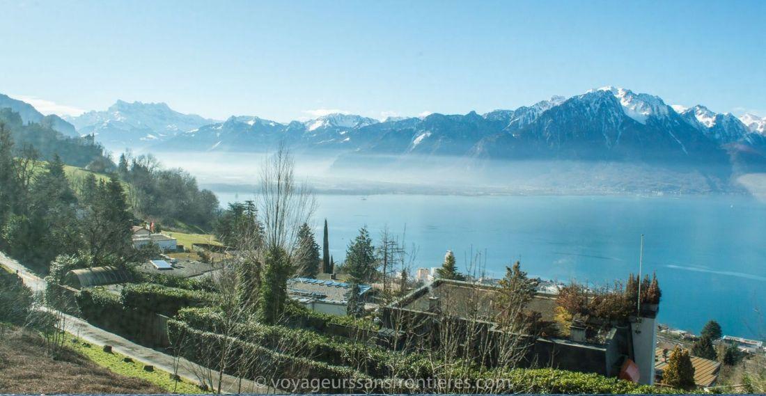 View over the Lake Geneva - Switzerland