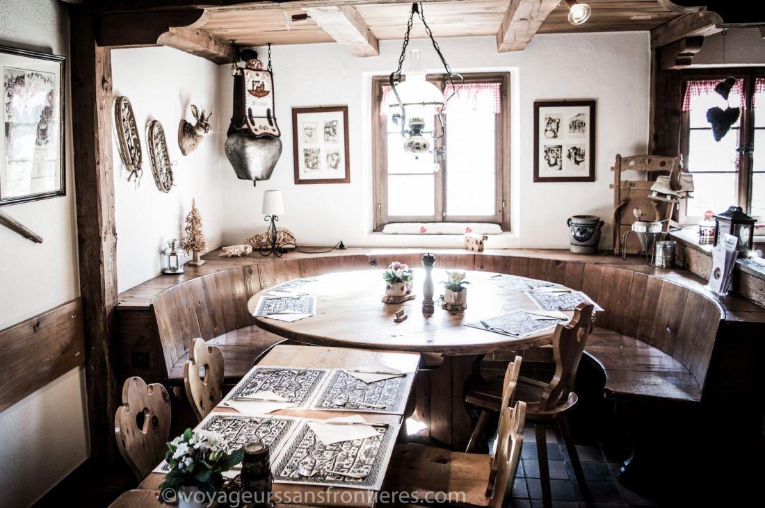 Le Chalet Restaurant - Château d'Oex, Switzerland
