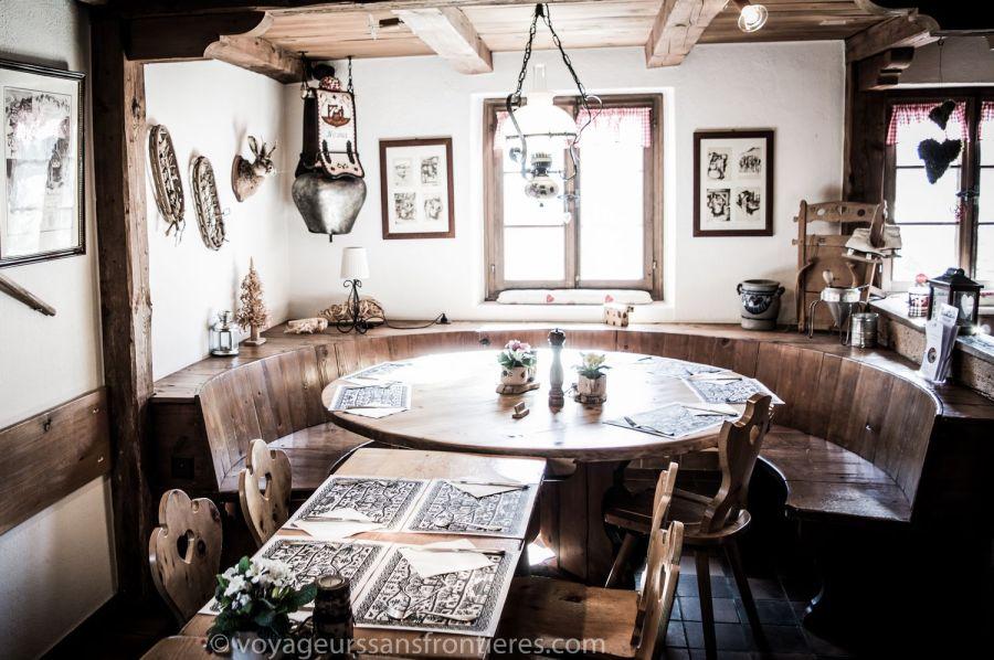Restaurant le Chalet - Château d'Oex, Suisse