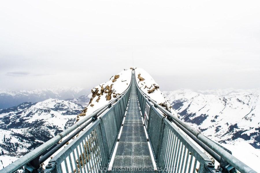 The Peak Walk - Glacier 3000, Switzerland