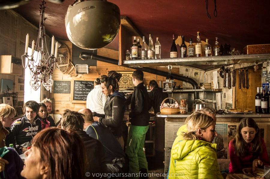 Le Refuge de l'Espace restaurant - Glacier 3000, Switzerland
