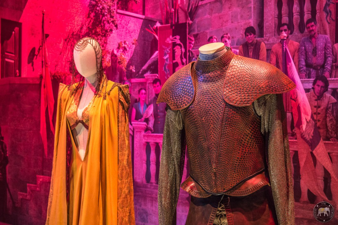 Game of Thrones exhibit - Paris, France
