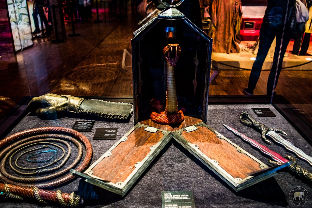 Exposition Game of Thrones - Paris, France