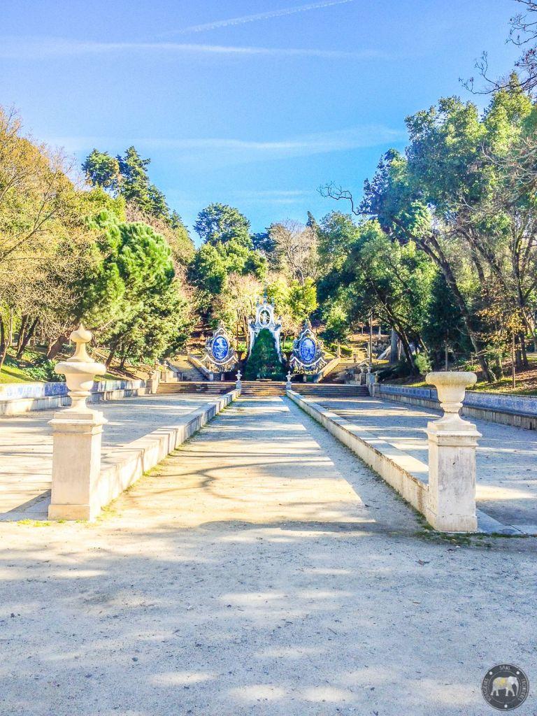 Jardin - Coimbra, Portugal