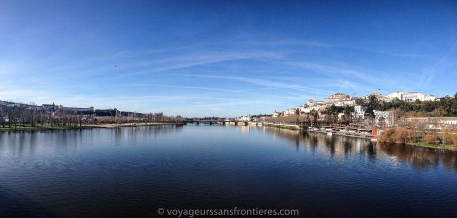 The Rio Mondego - Coimbra, Portugal