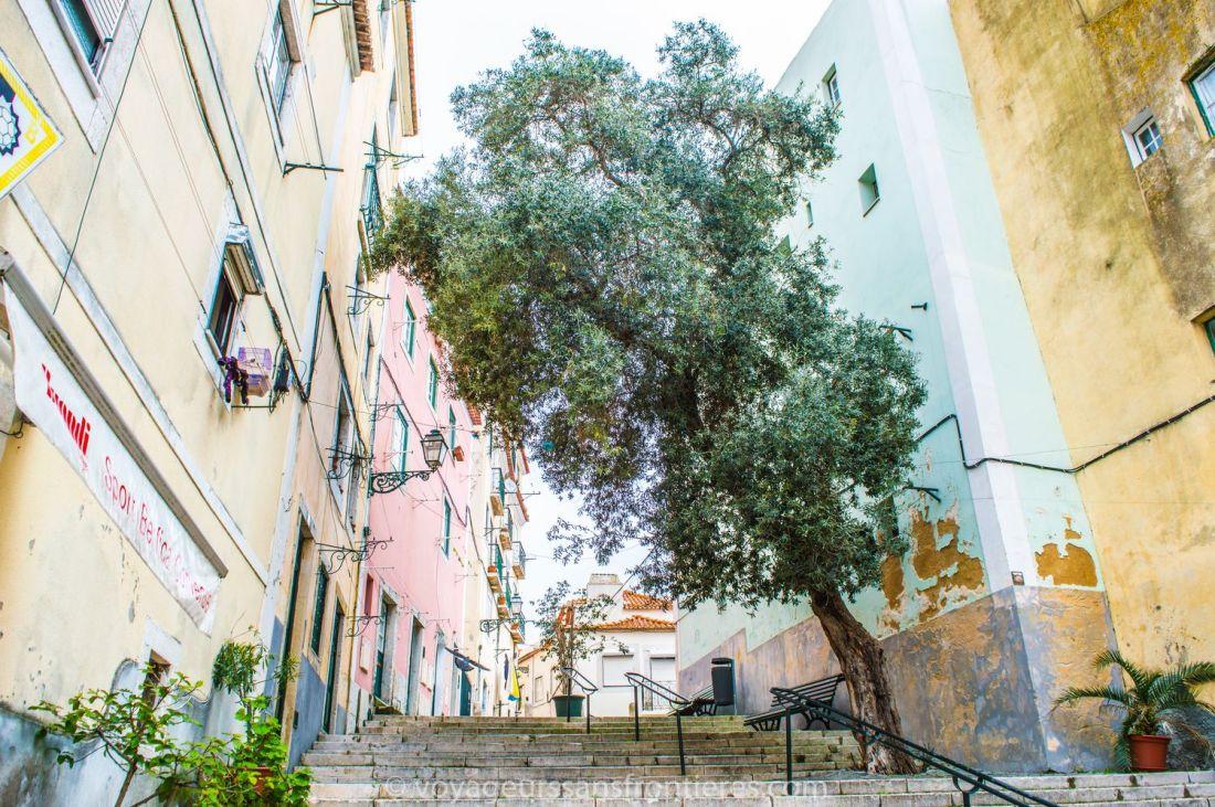 The Alfama district - Lisbon, Portugal