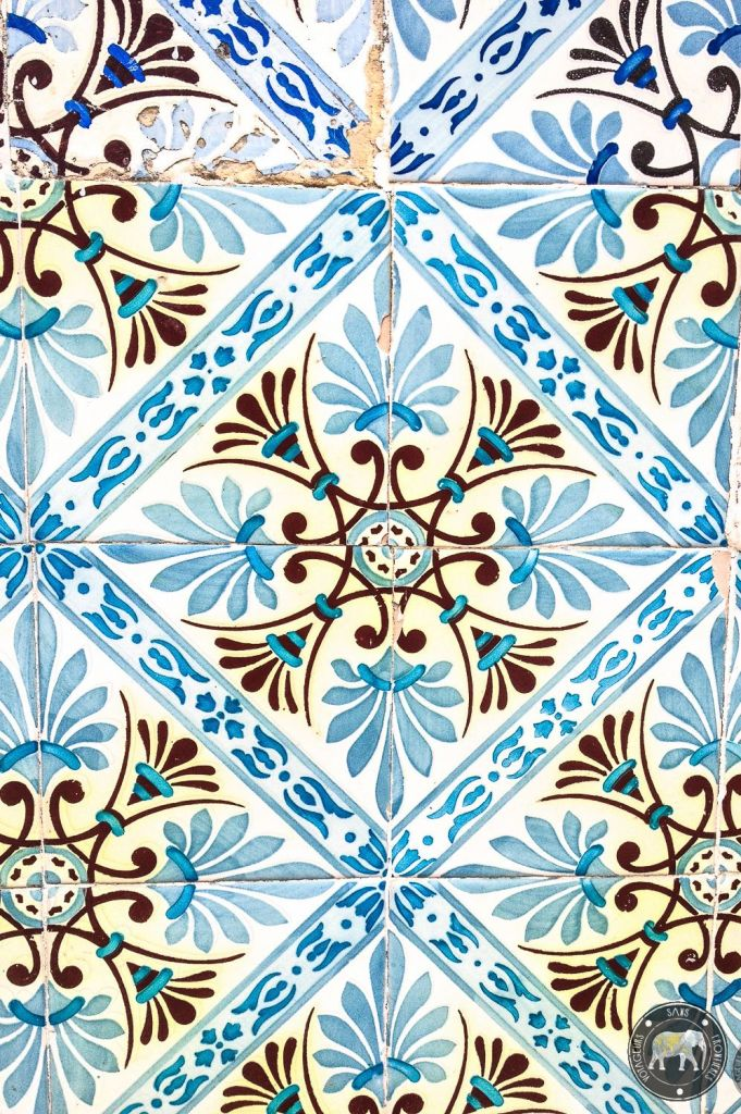 Azulejos - Lisbonne, Portugal