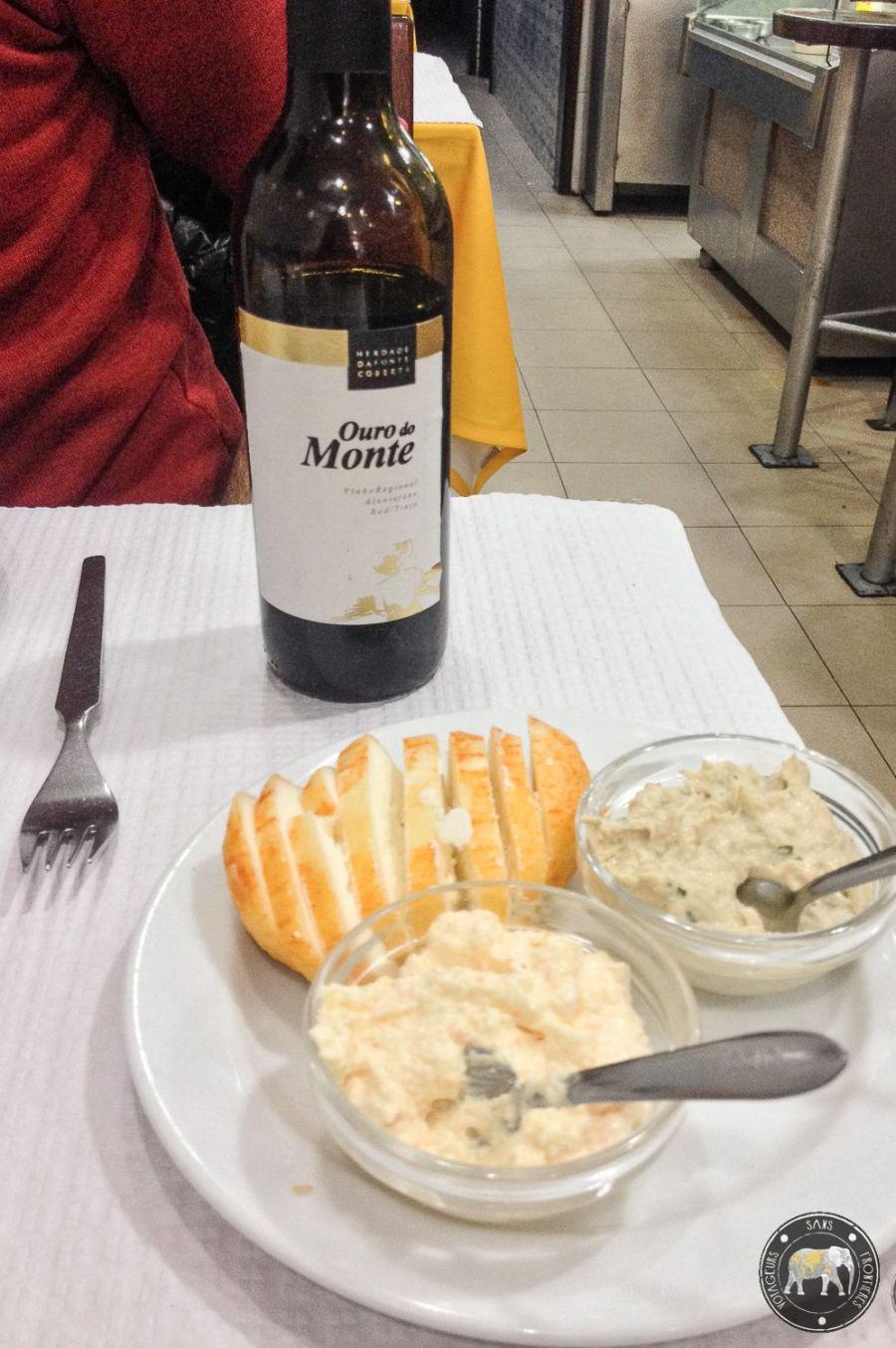 Apéritif au restaurant A Penalva da Graça - Lisbonne, Portugal