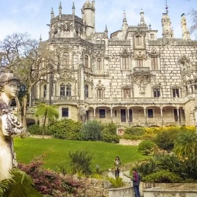 Regaleira palace at the Quinta da Regaleira - Sintra, Portugal
