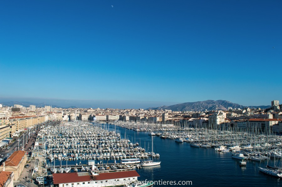 The harbour of Marseille - France