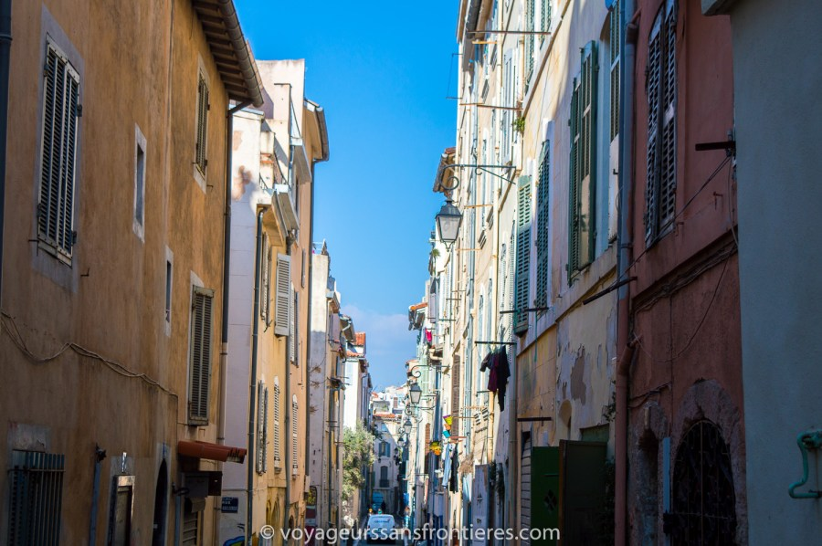 In the streets of Marseille - France