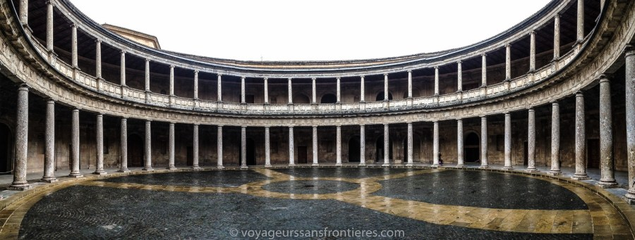 Palais de Charles V à l'Alhambra - Grenade, Espagne