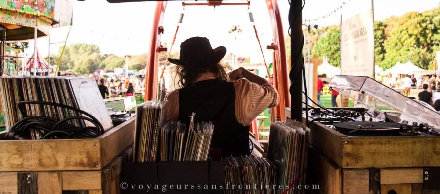 Le DJ cowboy du TREK Festival - La Haye, Pays-Bas